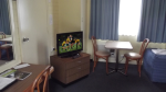 Television included in all rooms.